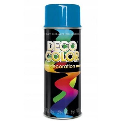 Spray barniz 400 pintura en aerosol azul