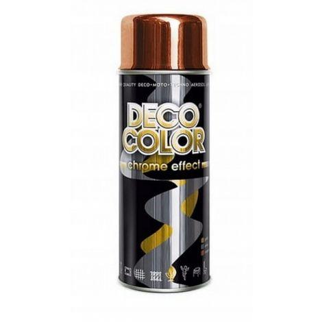Spray barniz deco pintura 400ml cobre espejo cromo