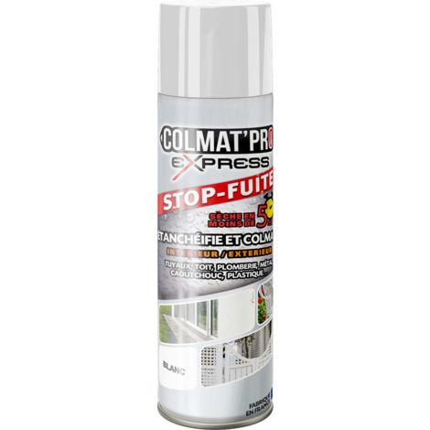 Spray Bitume Colmat'Pro Express Blanc 300ml - Blanc