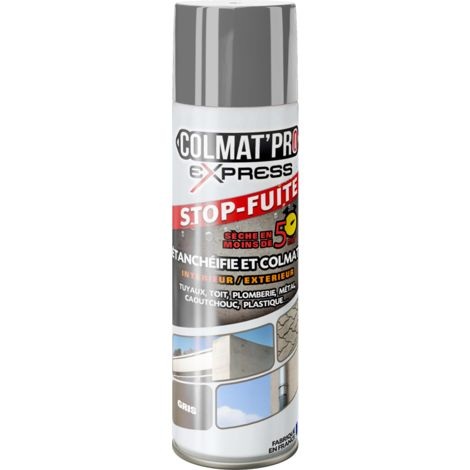 Spray Bitume Colmat'Pro Express Gris 300ml - Gris