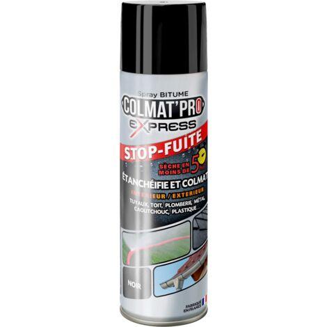 "main image of ""Spray Bitume Colmat'Pro Express Noir 300ml - Noir - Noir"""