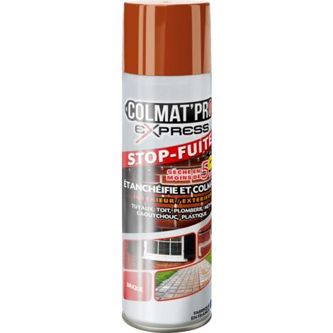 Spray Bitume Colmat'Pro Express Rouge Brique 300ml - Orange