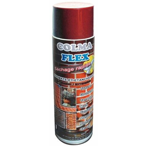 Spray bitumeux 500 ml Colmaflex Brique