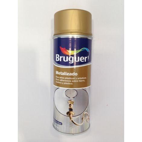 Spray bruguer metalizado oro 400 ml