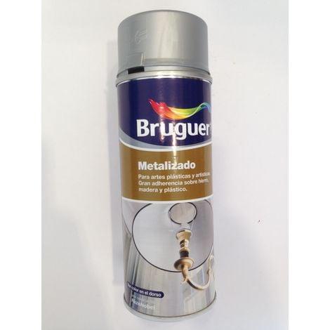 Spray bruguer metalizado plata 400 ml