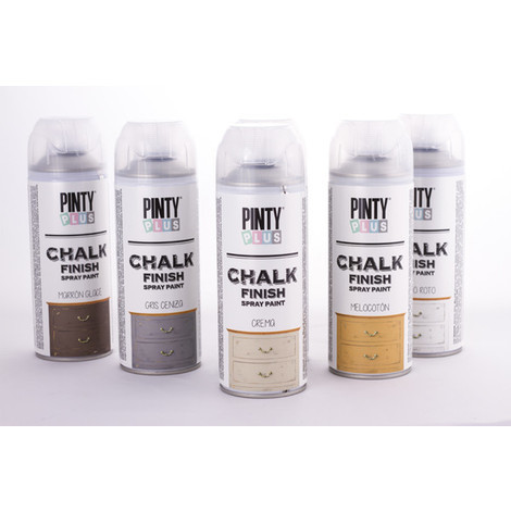 SPRAY CHALK PAINT PINTYPLUS 400 ML