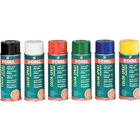 Spray colorant 400ml rouge E-COLL (Par 6)