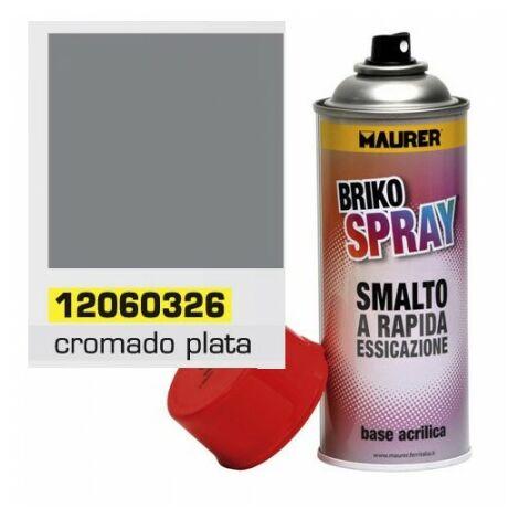 Spray Cromado Plata 400 ml.