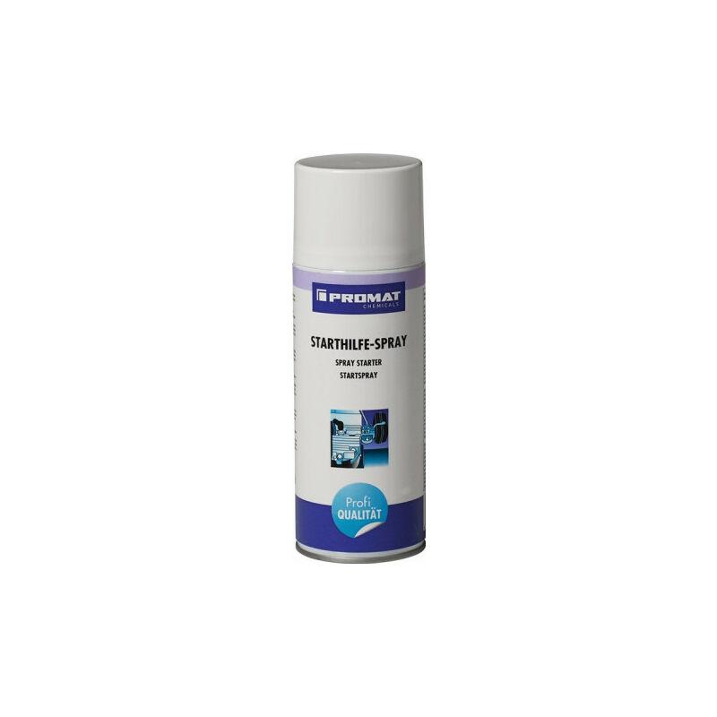 Spray d'aide au démarrage 400 ml bombe aérosol PROMAT CHEMICALS (Par 12)