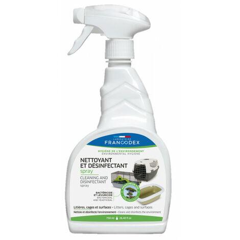 Spray de limpieza y desinfección 750ML