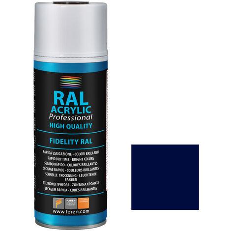 Spray de pintura azul cobalto RAL 5013 400ml. (Faren 4VN400)