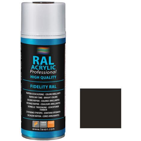 Spray de pintura gris sombra RAL 7022 400 ml. (Faren 5VW400)