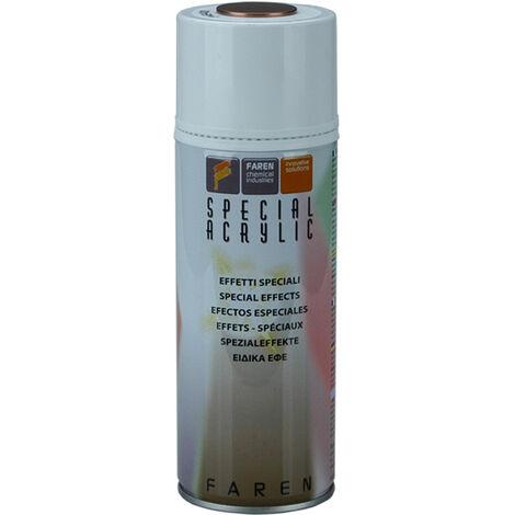 Spray de pintura metalizada gris 400 ml. (Faren 7VJ400)