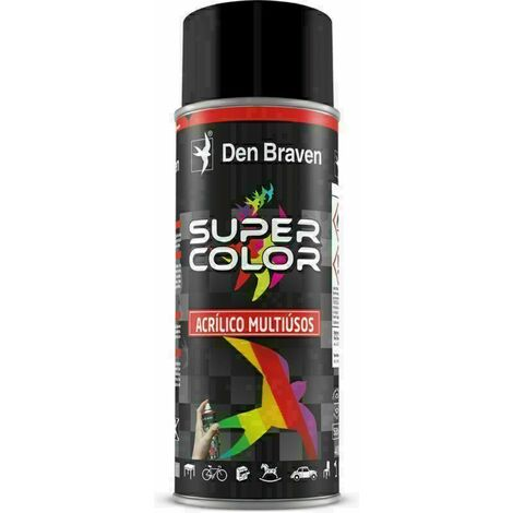 Spray de pintura Negro Mate Ral 9005 400 ML