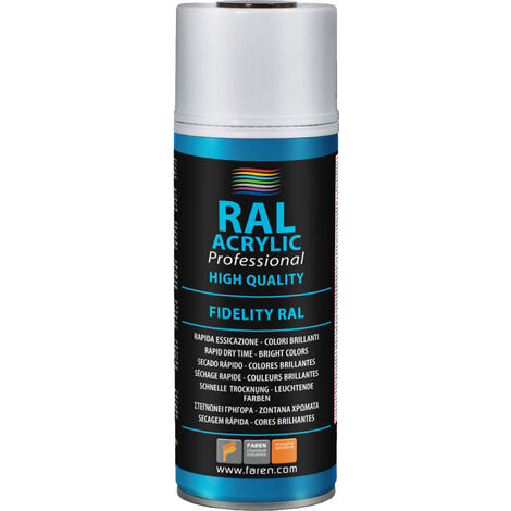 Spray de pintura transparente opaco 400 ml. (5VI400)
