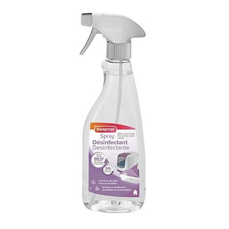 Spray désinfectant Désignation : Spray désinfectant Beaphar 13397