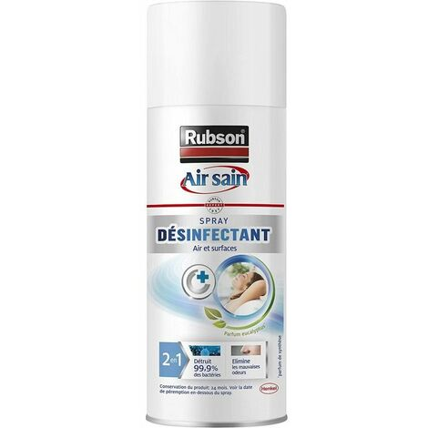 Spray Désinfectant Multi-usages 2 en 1 de RUBSON - Root > Accueil > Serrurerie > Destockage