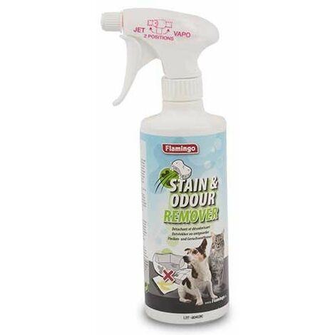Spray eliminador de olores de perros y gatos