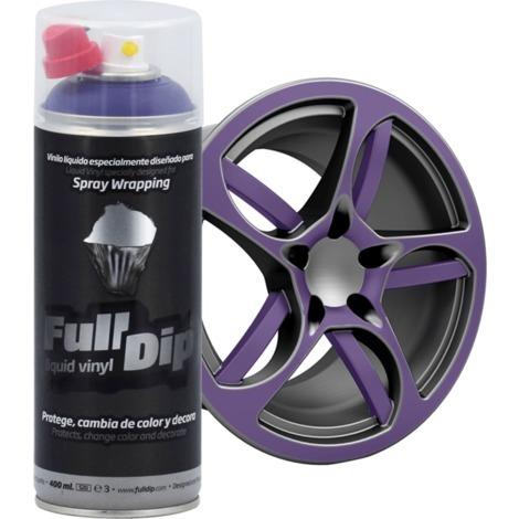 Spray Full Dip Couleur Solide Vinyle Liquide 400 mL | noir