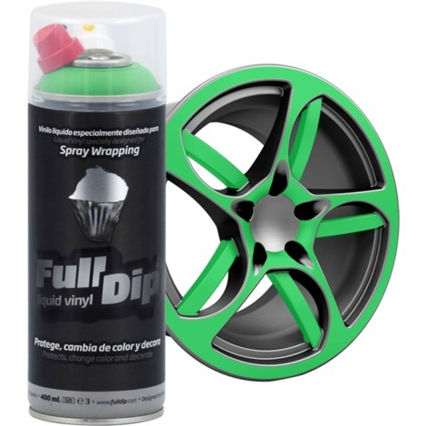Spray Full Dip Couleur Solide Vinyle Liquide 400 mL   violet