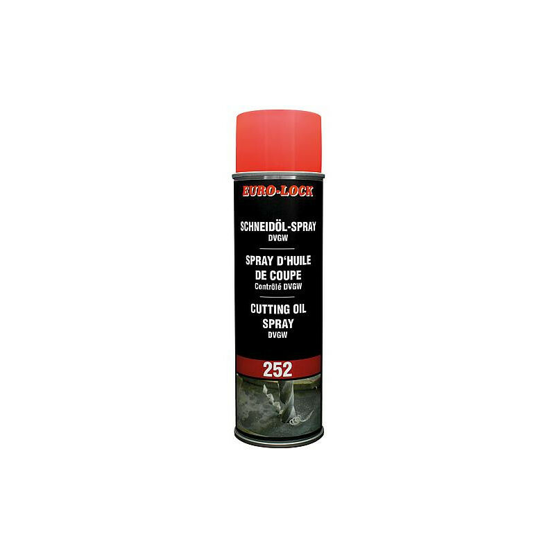 Spray huile de coupe 400 ml aerosol certifie DVGW