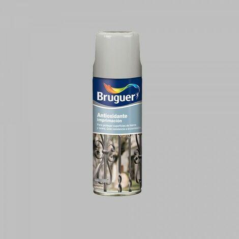 Spray imprimation gris antirouille 0.4l bruguer