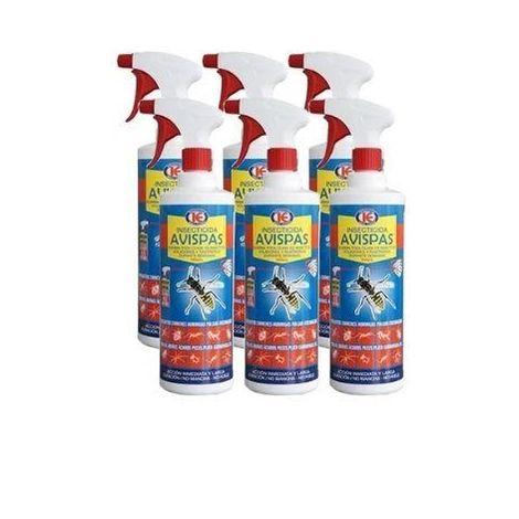 Spray insecticida TANZIL 1L contra insectos voladores y rastreros - Pack Ahorro 6x