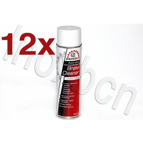 spray limpia o limpiador de frenos de disco,tambor,pastillas,embragues 12 botes