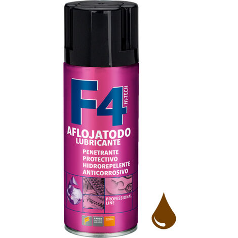 Spray lubricante aflojatodo multiusos F4 400ml. (Faren 974003)