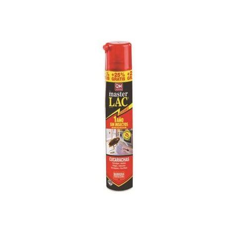 Spray MASTER LAC 750 ml (+150 ml Gratis) contra moscas, cucarachas, hormigas, arañas y pulgas