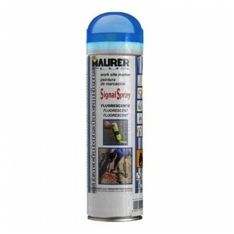 Spray maurer traçage bleu fluorescent 500 ml