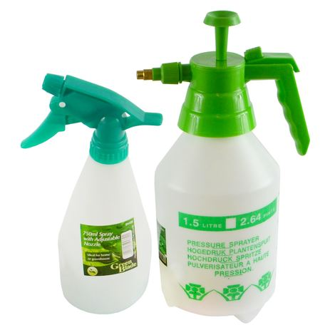 b7c1f71e8a2b Spray Mist Bottle Nozzle 2pc Set Planting Gardening Watering Pressure  Sprayer