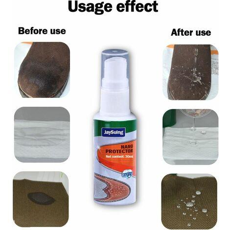 Spray nanotecnologia impermeabilizzante per Scarpe e Stivali, Protezione Impermeabile e antimacchia