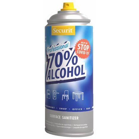 Spray nettoyant et désinfectant toutes surfaces pour tables hôtel-restaurant - 6,5