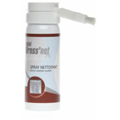 Spray nettoyant pour appareils auditif BrossNet 75 - 50ml net