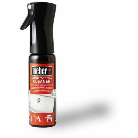 Spray Nettoyant Weber pour surfaces inox