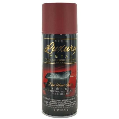 Spray paint Plasti Dip Luxury Metallic Red 400 ml
