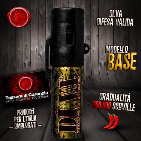 """main image of """"Spray Per Difesa Personale Verde Mimetico 15 ML Sicurezza Protezione Aggressioni"""""""