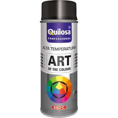 SPRAY PINTURA ANTICALO.NEGRO 690º 400ML