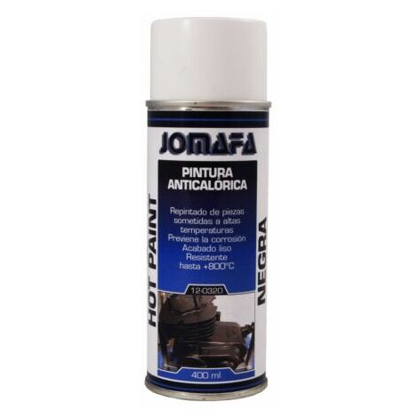SPRAY PINTURA ANTICALORICA NEGRA 800 º BOTE 400ml -- 10930