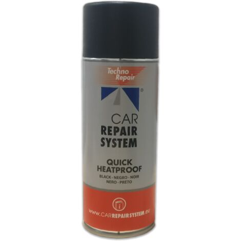 SPRAY PINTURA ANTICALORICA NEGRO 400 ML