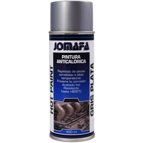 SPRAY PINTURA ANTICALORICA PLATA 400ml - 10931