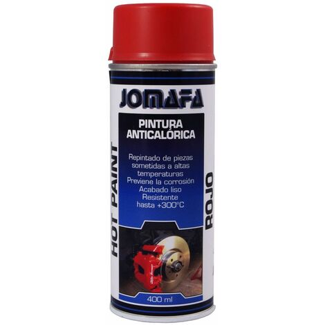 Spray Pintura Anticalorica Roja 400Ml