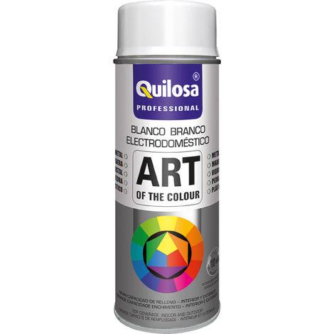 Spray pintura blanco eletrodomésticos RAL9016 400ML Quilosa
