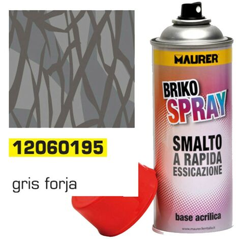 Spray Pintura Gris Forja 400 ml.