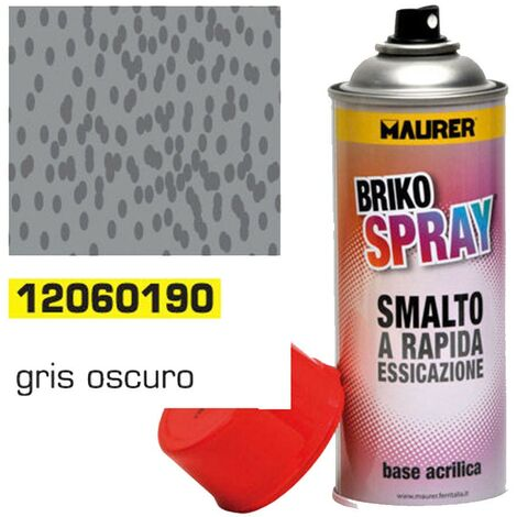 Spray Pintura Gris Forja Oscuro 400 ml.