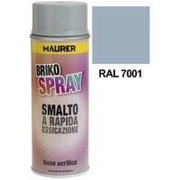 Spray pintura gris plata 400 ml.