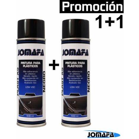 """main image of """"SPRAY PINTURA PARA PLASTICOS NEGRO 500ml, Parachoques, piezas... - 10940x2"""""""