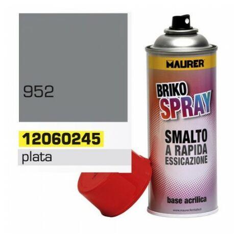 Spray Pintura Plata 400 ml.