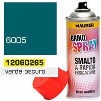 Spray Pintura Verde Oscuro Musgo 400 ml.